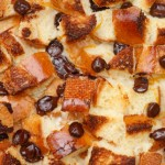 Orange and Chocolate Chip Bread Pudding