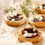 Onion and Goat Cheese Tartlettes