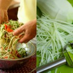 Som Tam Salad and julienne peeler