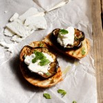 Olive Oil and Balsamic Roasted Eggplants