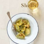 Ricotta Stuffed Shells with Pesto